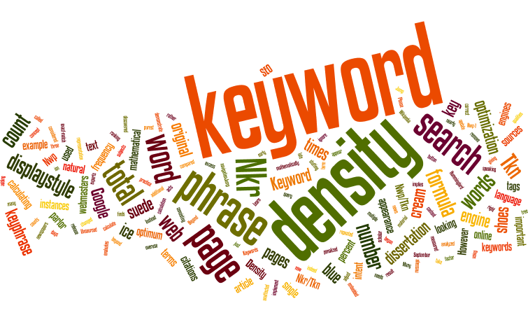 Relevancia de palabra clave – Keyword density